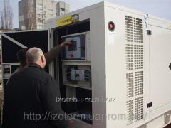 DGA, DGU diesel generator