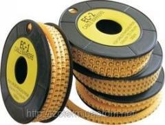 Кабельная маркировка для нанесения на провода обозначений