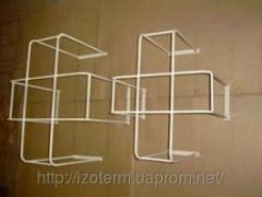 Protective lattice for conditioners