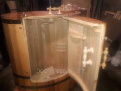 Fitobochki, oval mini-bath house and spa