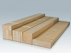 Edged sawn timbers for export from Ukraine
