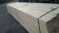 Edged board from pine for export from Ukraine to