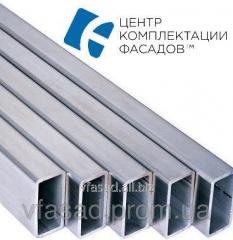 Aluminum pipe of rectangular 10*20*1,5 mm