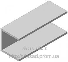 Швеллер алюминиевый 19,8*19,1*19,8*1,5 мм