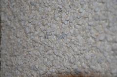 Фиброцементные панели с каменной крошкой мрамор белый Италия