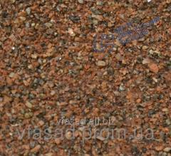 Фиброцементные панели с каменной крошкой капустянского гранита