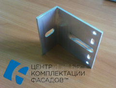 Кронштейн алюминиевый 80*80*40мм