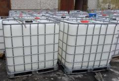 The eurocube the IBC Container Capacity is at 1000