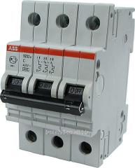 Модульный автоматический выключатель  ABB