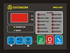 Автоматическое устройство управления дизельгенератором DKG-207