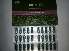 Herbal capsules for hair growth Trichup, TRICHUP