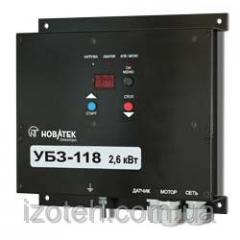 Универсальный блок защиты однофазных асинхронных электродвигателей мощностью до 2,6 кВт (12А) УБЗ-118