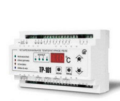 Control unit of heating of TR-102
