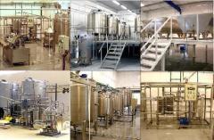 Miniplants for milk processing