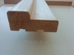 Wooden door box (needles)