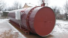Equipment for heat treatment of wood