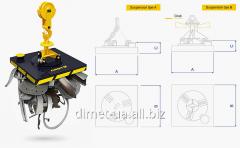 Electromagnet series Dimet scrap 3 for stripping