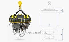 The Dimet series skrap-V for unloading of a scrap