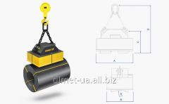 Load-lifting a series Dimet electromagnet emgb for