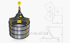 Lifting electromagnet for lifting èmgr series