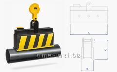 Load-lifting electromagnet of Dimet of a series