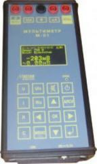 Multimeter of STsB of measurement of current,