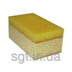 Bilateral sponge for cleaning epoxy a zatirok