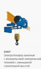Electric wire rope hoist rope Dimet with monorail