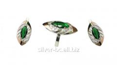 Jeweler set with an emerald 253, Bila Tserkva