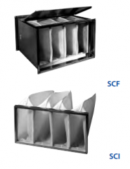 Pocket SCF filter
