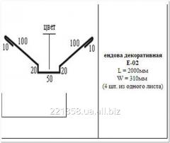 Ендова декоративная Е-02
