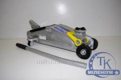 Домкрат подкатной 2т h350 мм. 10,5 кг. MIOL 80-120