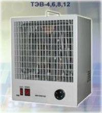 Тепловентилятор ТЭВ электрический переносной, стационарный