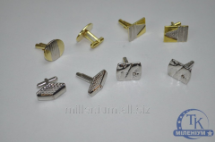 Cuff links without box a cuff link