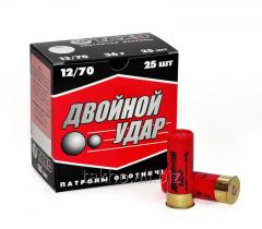 """Shot cartridges """"Double Blow"""""""