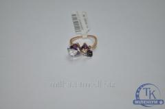 Кольцо женское с камнями Swarovski 60114810201