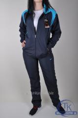 Костюм спортивный женский из плащевки Adidas