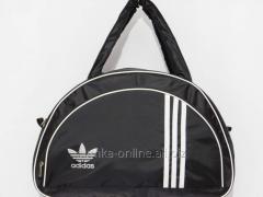 Сумка текстильная спорт Adidas черный