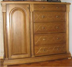 Комоды из натурального дерева , мебель деревянная