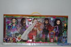 Кукла EAH 27 см (с мебелью и аксессуарами) D235