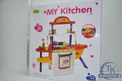 Кухня (духовка,посуда,продукты,плита) AK8502