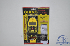 Лазерная рулетка GIANT 0.45M-18M