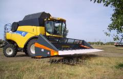 Harvester of New Holland Optisun 870