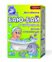 Herbs for children's bathtubs - to Bai - Bai