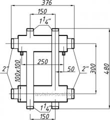 Коллектор котельной СК-173.150 с выходом...