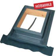 Чердачное (слуховое) окно металлическое