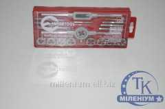 Set of dies and taps of 20 units of InterTool