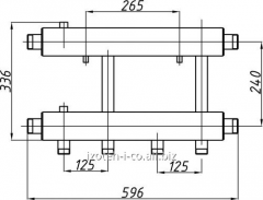 Коллектор для котельной СК-262.125
