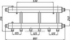 Коллектор для котельной СК-362.125