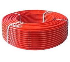 PE-Xc pipe/EVOH 16 * 2.0 (red, antiksin. bar)